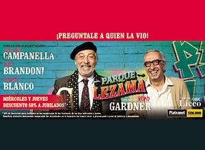 Parque lezama: 2x1 de descuento en Entretenimiento