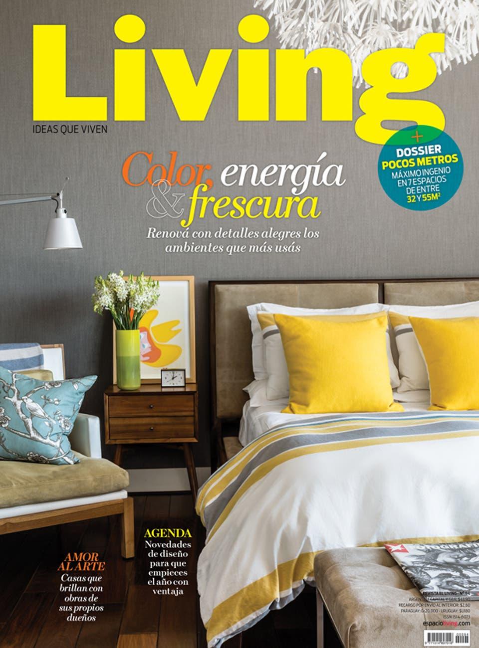 Living 94   Febrero 2015   Living   ESPACIO LIVING. Revista Living Decoracion Monoambientes. Home Design Ideas