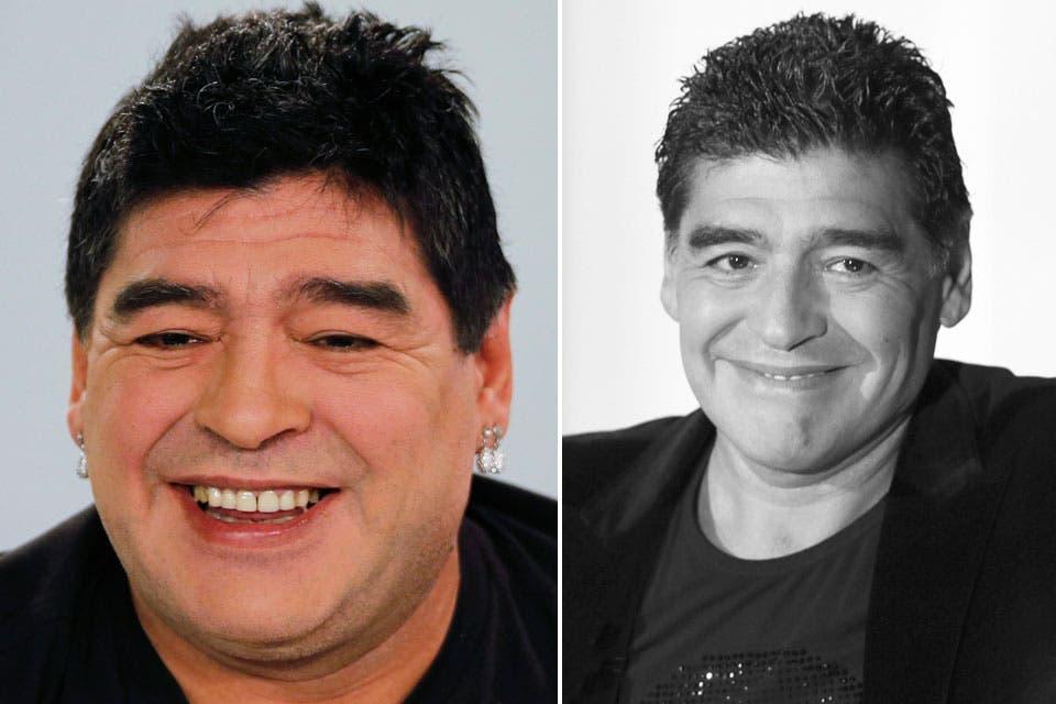 ¡Increíble! La nueva cara de Diego Maradona - 04.03.2015 ... - photo#26
