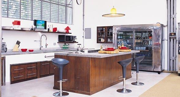 10 modelos de parrilla para tu casa comun espacio living - Estilos de cocinas ...