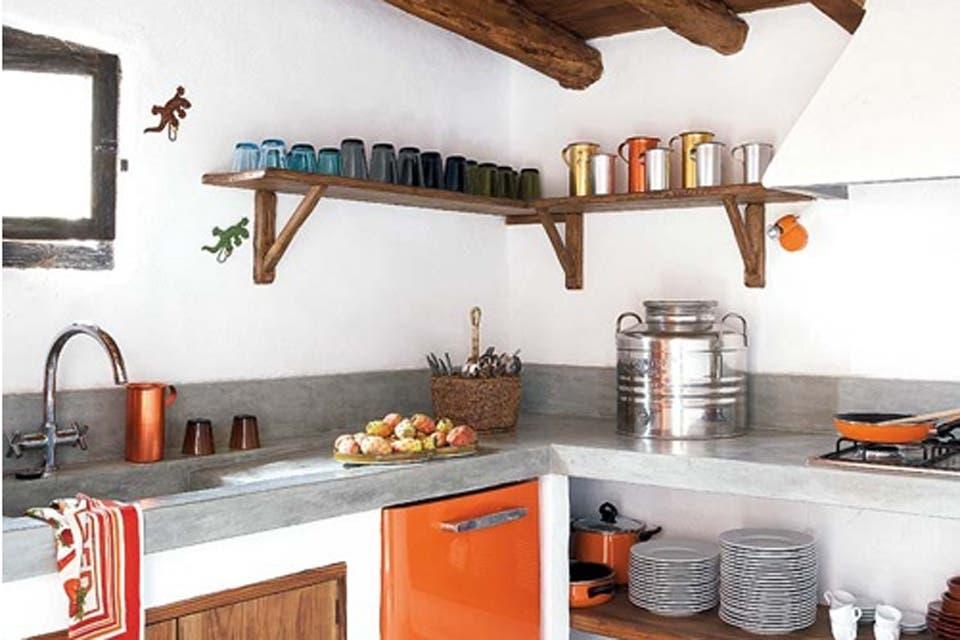 Cocinas en ceramica y cemento - Como aplicar microcemento sobre azulejos ...