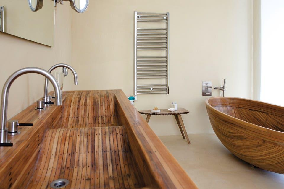 Bachas Para Baño Pequeno:Seis respuestas a la hora de decorar el baño – Living – ESPACIO