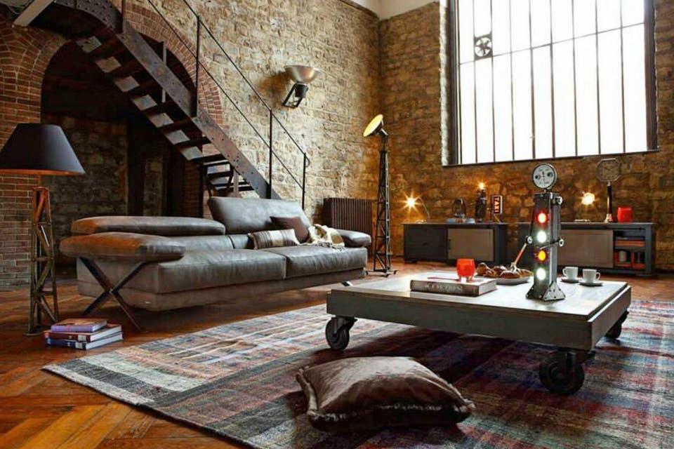Claves para lograr un estilo industrial en tu casa   decoraci n   ESPACIO  LIVINGClaves para lograr un estilo industrial en tu casa   decoraci n  . Revista Living Decoracion Monoambientes. Home Design Ideas