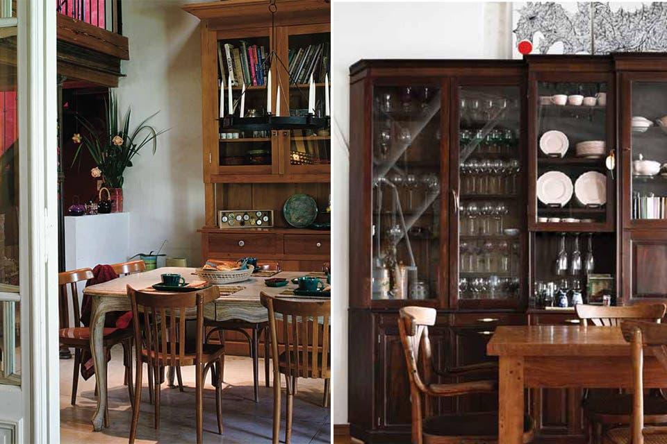 Muebles biblioteca antiguos 20170808222827 for Mueble de algarrobo para living