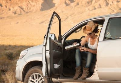 Viajar por el mundo en auto compartido