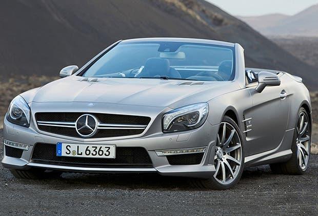 Mercedes benz present la versi n deportiva del sl for Mercedes benz deportivo