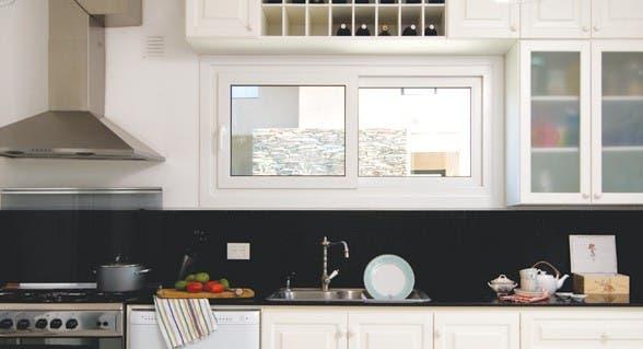 Cocinas pautas para redecorar y elegir muebles com n - Cocinas sin muebles arriba ...