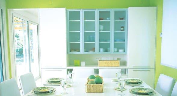 Simple&real: ideas para pintar de color   común   espacio living