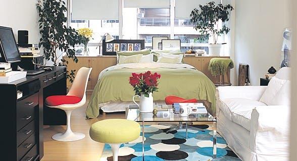 Simple Real  Decorar monoambientes   Com n   ESPACIO LIVING. Revista Living Decoracion Monoambientes. Home Design Ideas