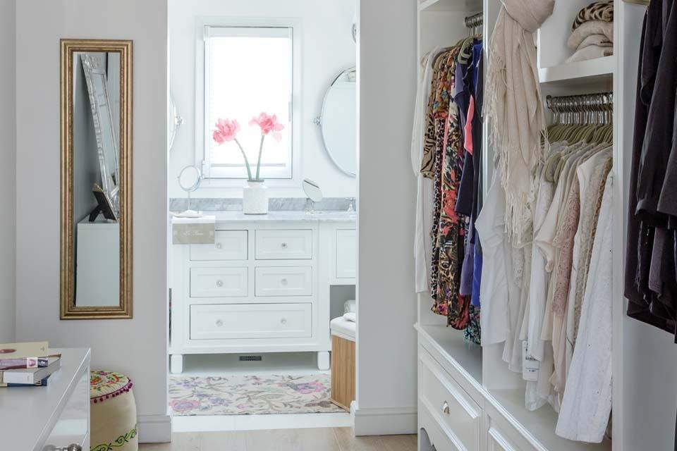Baño Vestidor Medidas:Un baño con vestidor incorporado – Bárbara Orlando – ESPACIO LIVING