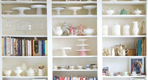Muebles para almacenar ideas para guardar en el ba o - Muebles para vajillas ...