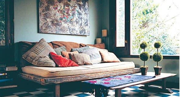 5 trucos para renovar tu casa con poca plata   común   espacio living