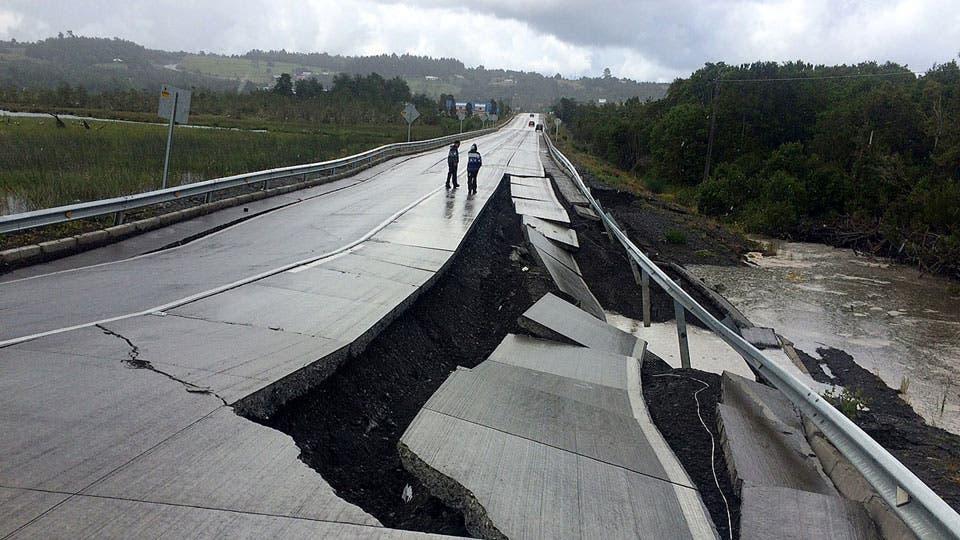 Chile: se registró un fuerte sismo de 6,9 en la costa de Valparaíso