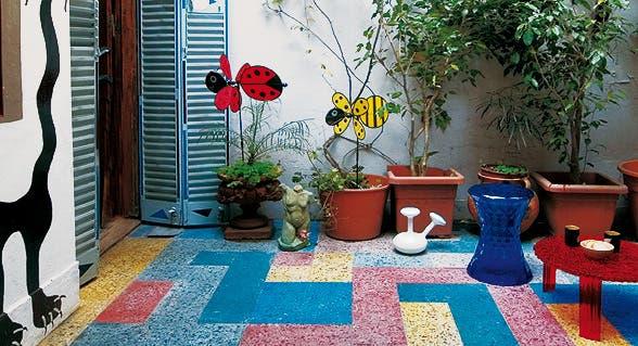 Reciclados para patio jardines r 218 sticos tendencia e for Ideas para patios chicos