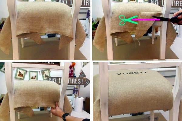 C mo tapizar una silla paso a paso revista ohlal - Materiales para tapizar ...