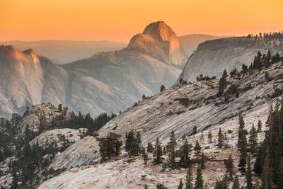 Recorré los imponentes paisajes del Parque Nacional Yosemite