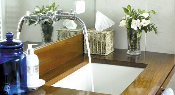 10 bachas para decorar el baño de tu casa - Común - ESPACIO LIVING