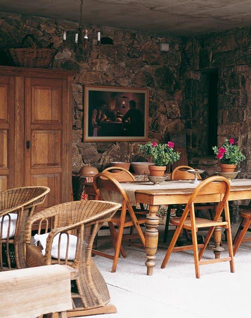Una casona de campo con estilo rom ntico provenzal for Living estilo romantico