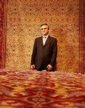 Restauraci n de alfombras y tapices un arte milenario la nacion - Restauracion de alfombras ...