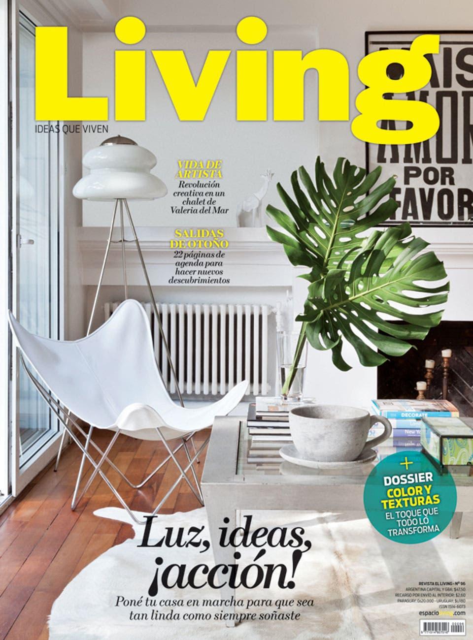 Living 96   Junio 2015   Living   ESPACIO LIVING. Revista Living Decoracion Monoambientes. Home Design Ideas