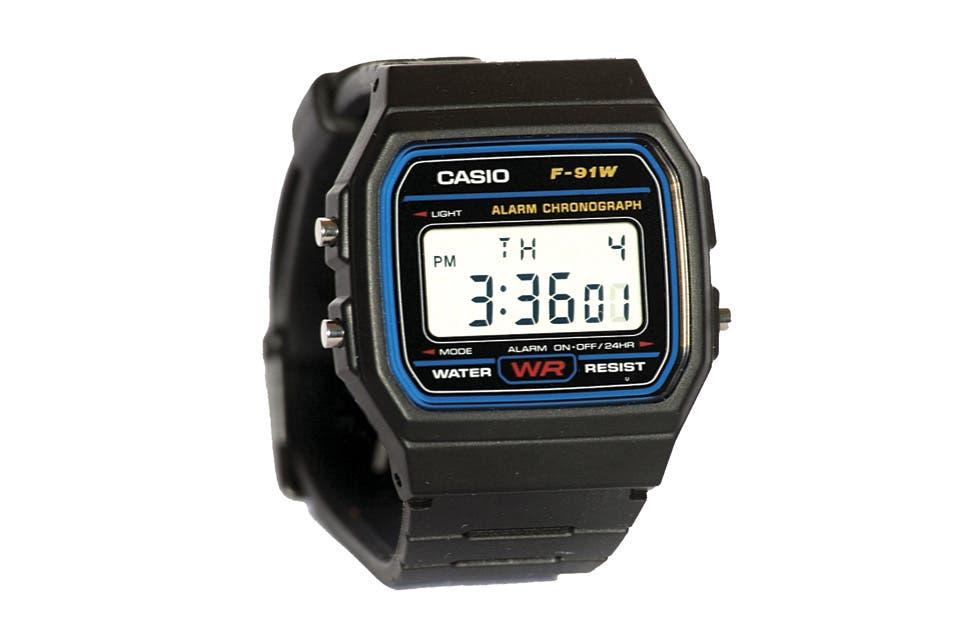 Deconstrucci n de un objeto el reloj digital casio for Reloj digital de mesa