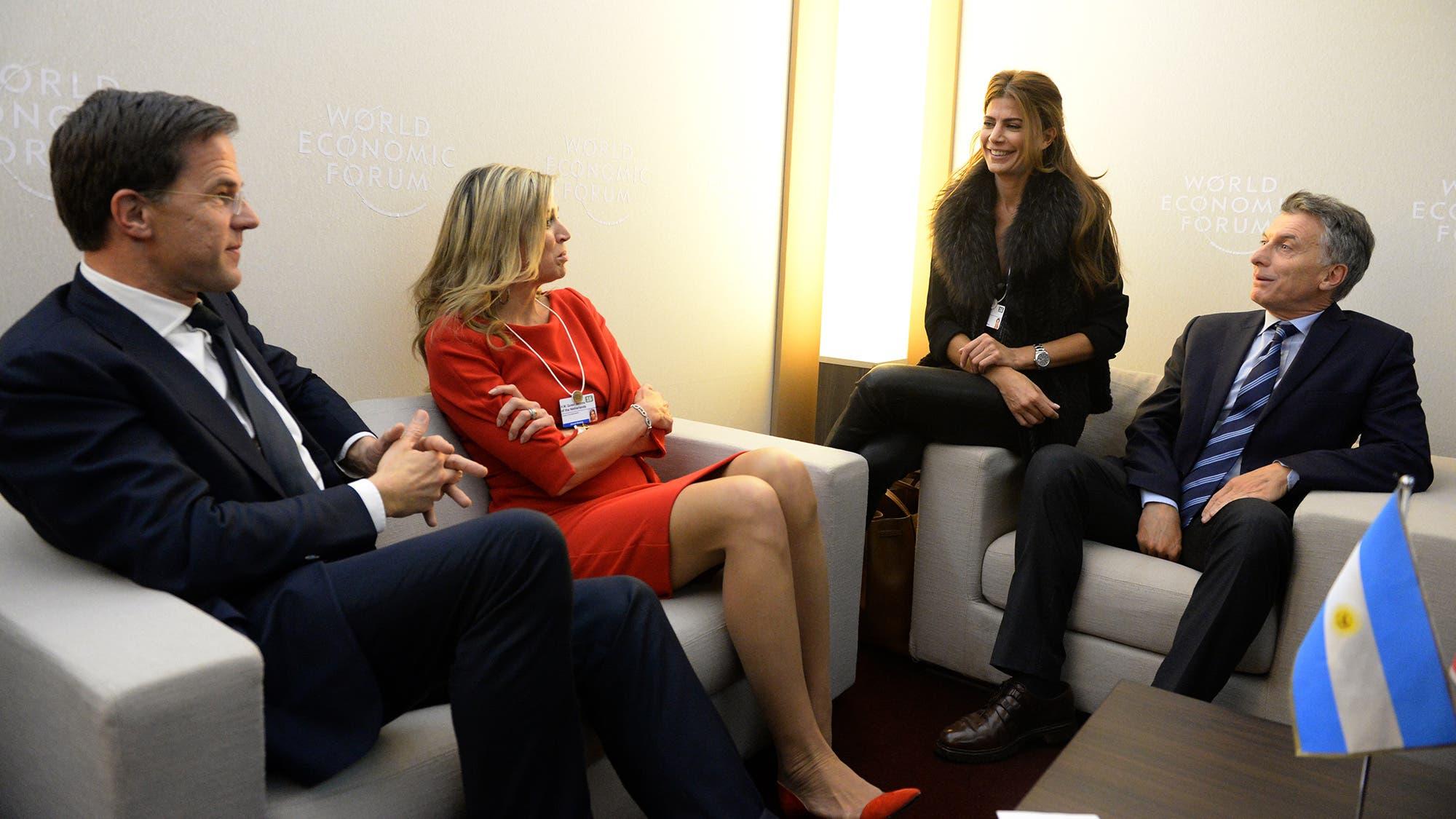 Resultado de imagen de Macri recibió a Maxima de Holanda