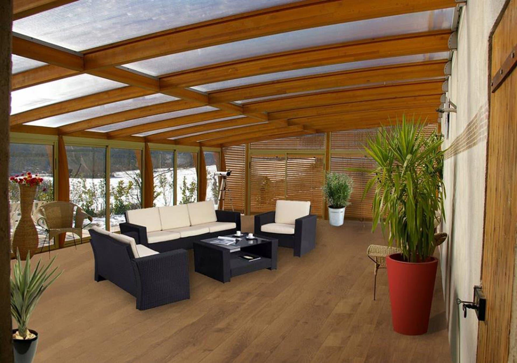 modernas salas de estar con ventanas al verde. Black Bedroom Furniture Sets. Home Design Ideas