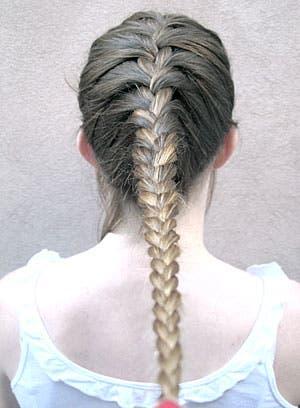 A pedido del p blico con ustedes la trenza cosida - Como hacer peinados hombre ...