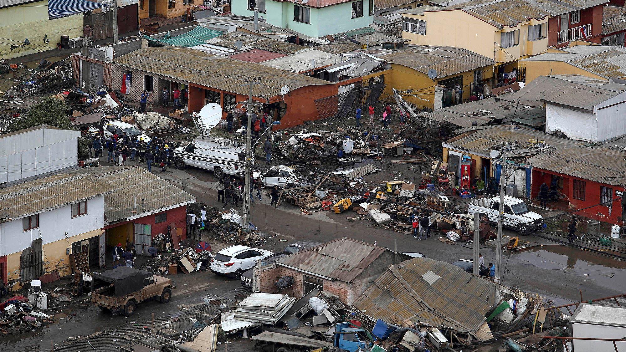 En plena madrugada nueva r plica del terremoto en chile for Ultimas noticias del espectaculo de hoy