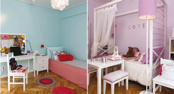 Decorar cuarto flores diseo nias ideas para decorar el - Dormitorios infantiles mixtos ...