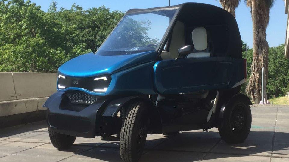 Jóvenes estudiantes construyeron el primer auto eléctrico 100% argentino
