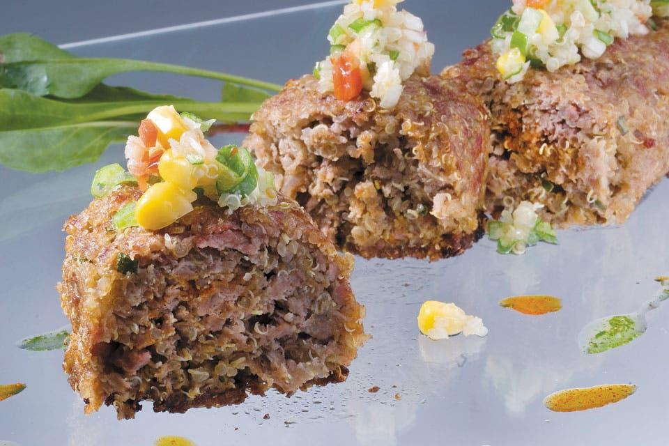 Receta de terrina de carne y quinoa la nacion for Cocinar quinoa negra