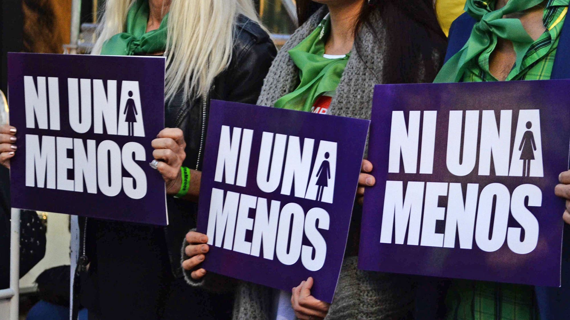 Movilización multitudinaria en contra de la violencia de género