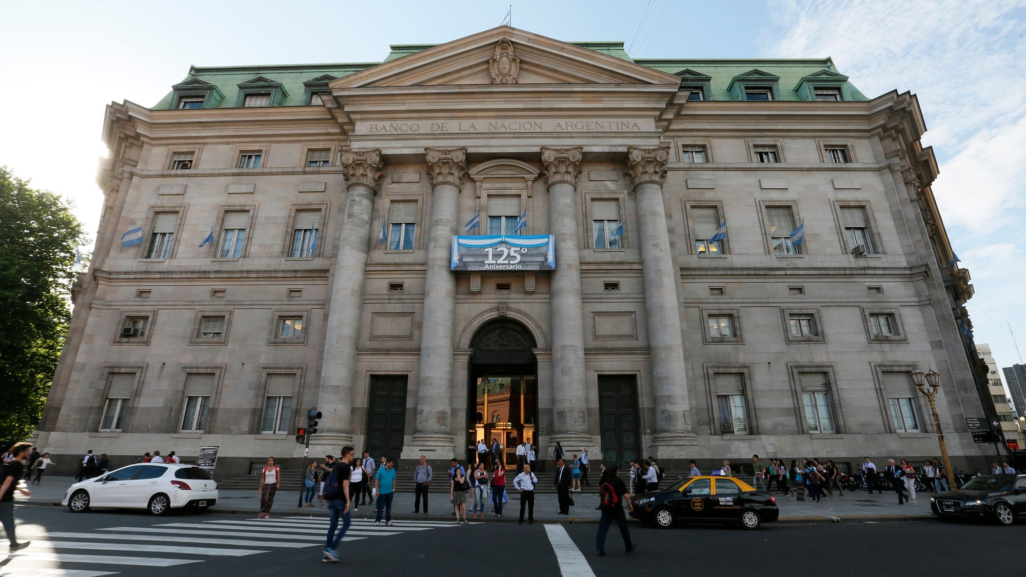 El edificio del Banco Nación: un monumento pensado para ser eterno