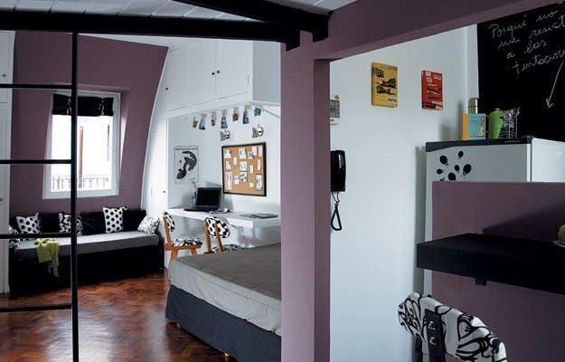Un monoambiente pr ctico y flexible   Decoraci n   ESPACIO LIVING. Revista Living Decoracion Monoambientes. Home Design Ideas