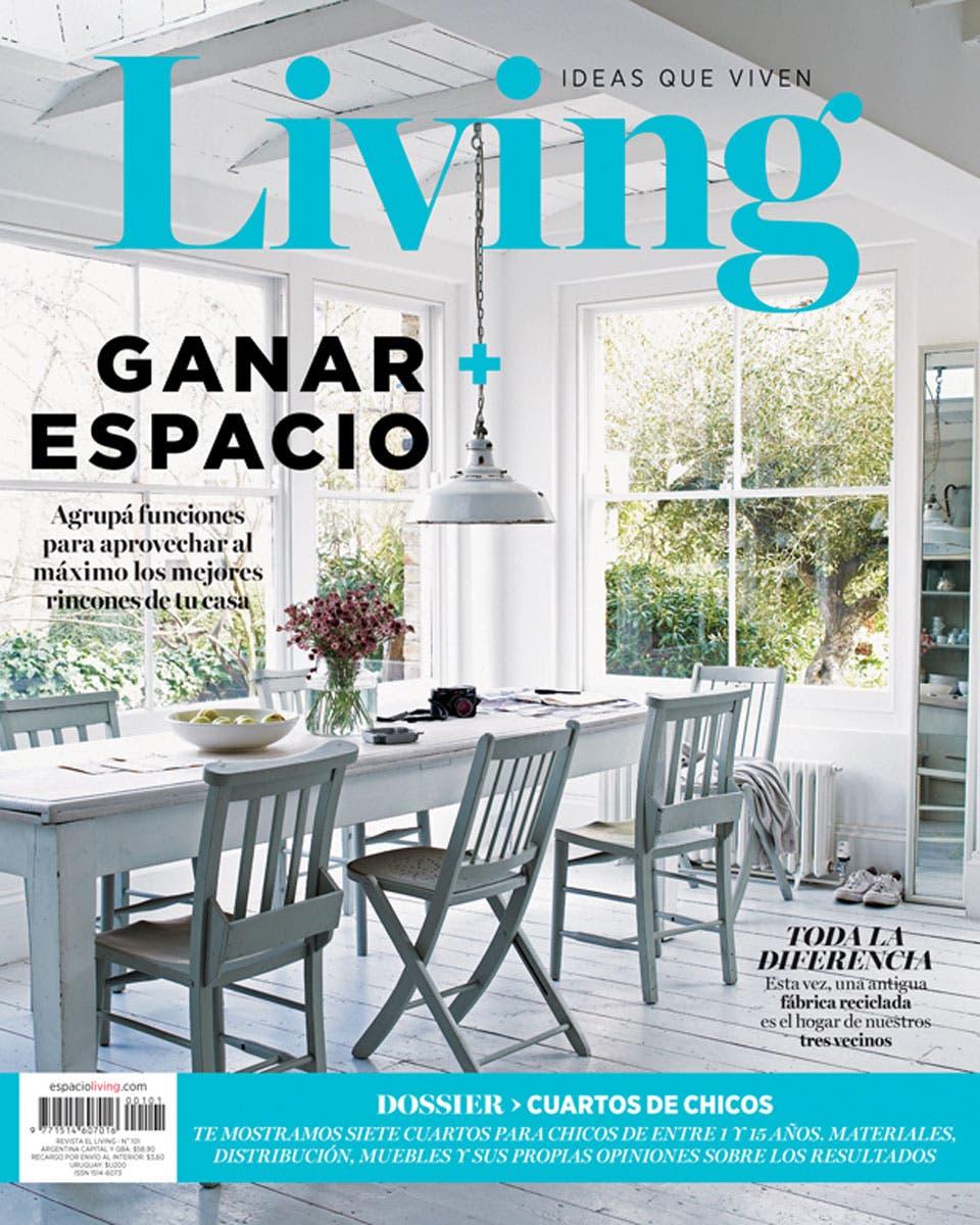 Living 101   Abril 2016   Living   ESPACIO LIVING. Revista Living Decoracion Monoambientes. Home Design Ideas