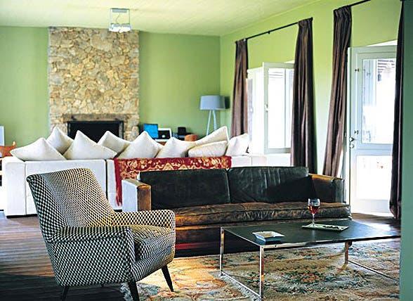 Casas pintadas interior imagui for Como pintar casa interior