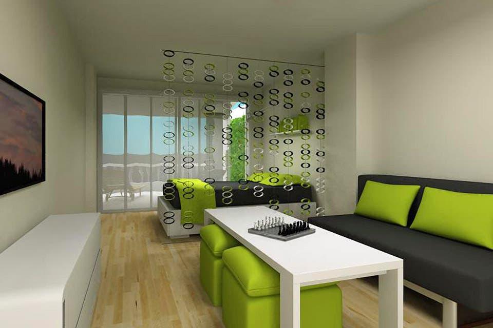 Soluci n 192  c mo dividir un monoambiente de 30m2   Living   ESPACIO LIVINGSoluci n 192  c mo dividir un monoambiente de 30m2   Living  . Revista Living Decoracion Monoambientes. Home Design Ideas