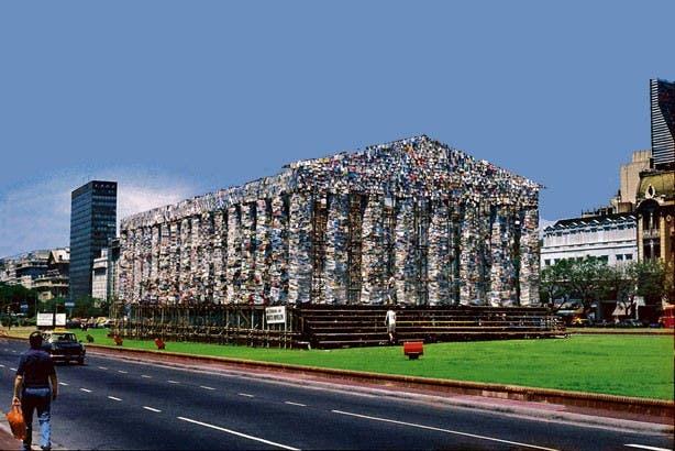 réplica del Partenón 2