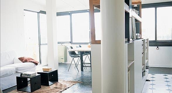 10 ideas para delimitar espacios   libre   espacio living