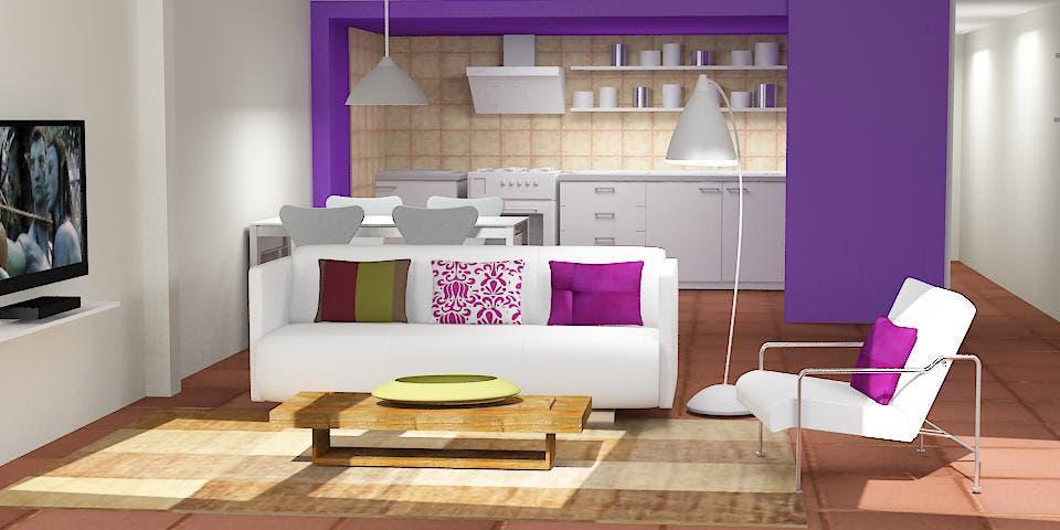 Solución 174: cómo decorar una cocina y un living integrados ...