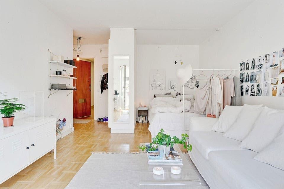 6 ideas para decorar un monoambiente   Living   ESPACIO LIVING. Revista Living Decoracion Monoambientes. Home Design Ideas