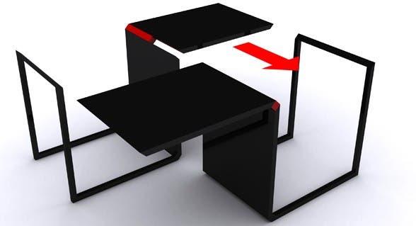 Mir estos muebles para espacios reducidos com n - Muebles practicos para espacios pequenos ...