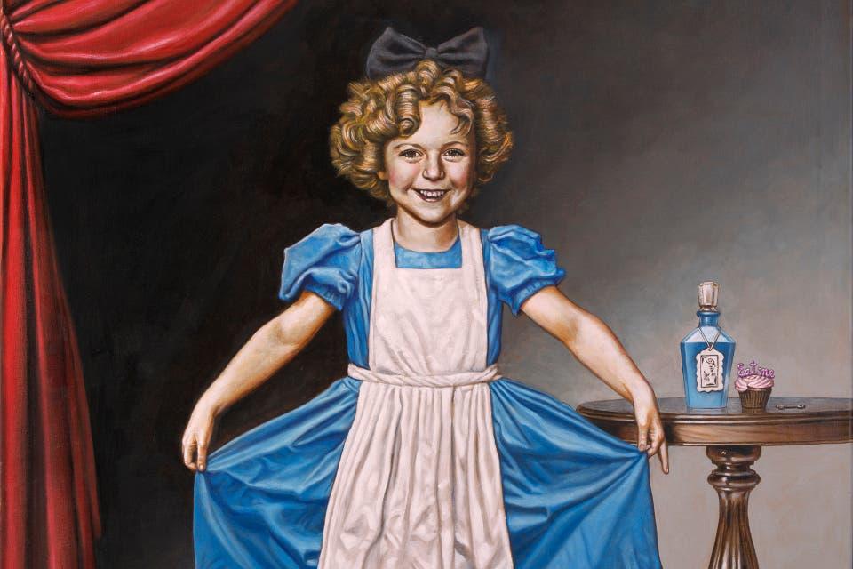 Alicia, según Sábat: Shirley Temple de niña