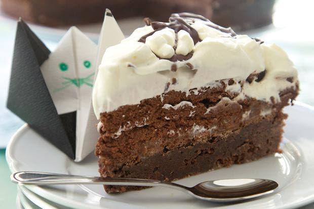 Receta De Torta Brownie De Chocolate Con Mousse La Nacion