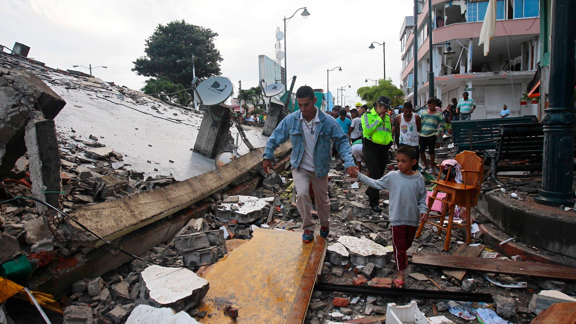 Resultado de imagen para sismo en ecuador